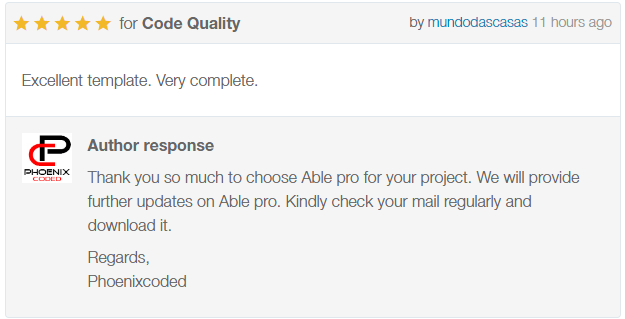 Review for Able pro 7.0 Responsive Bootstrap 4 Admin Template
