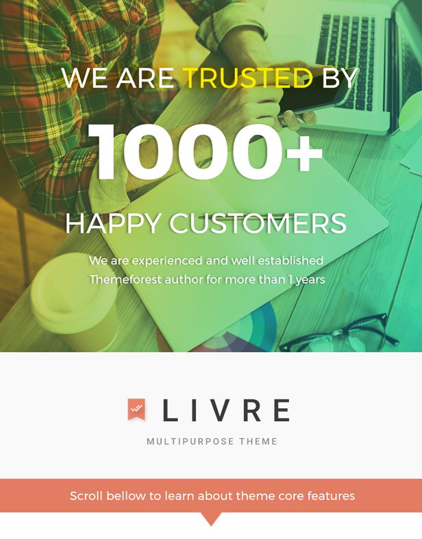 Livre - WooCommerce Theme For Book Store - 1