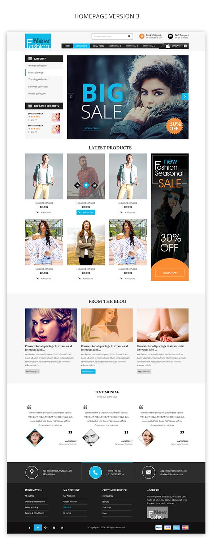 Fashion Multipurpose WooCommerce Theme - 3