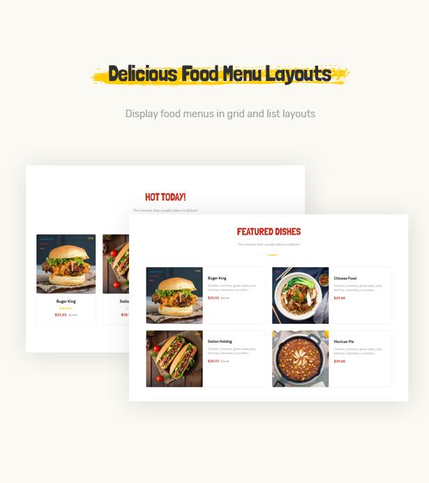 Leo Foodo - Fastfood & Restaurant Prestashop Theme