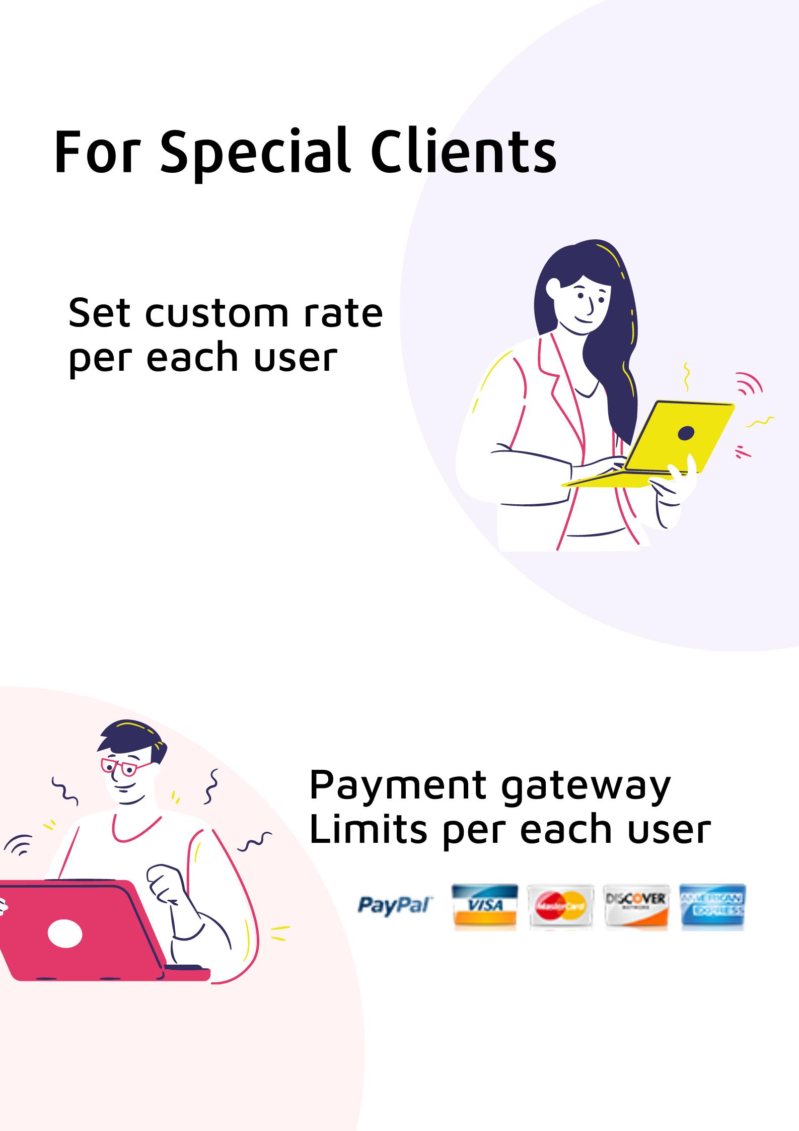 Smartpanel - Set Custom rates