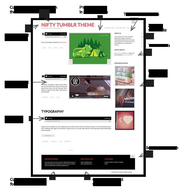 NIFTY - Clean Tumblr Theme - 7