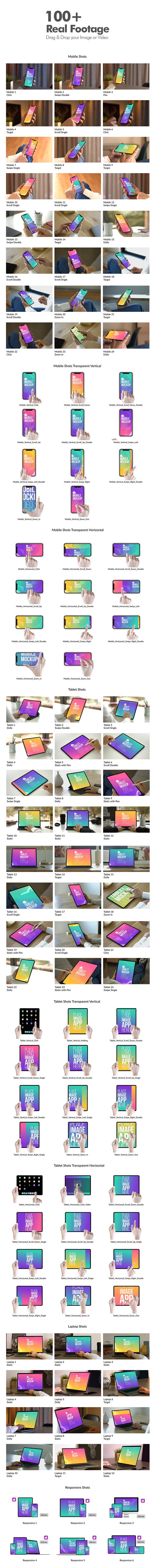 实拍视频素材iPad Pro/iPhone XI手势操作屏幕界面扣像合成第四季AE模板-CG海