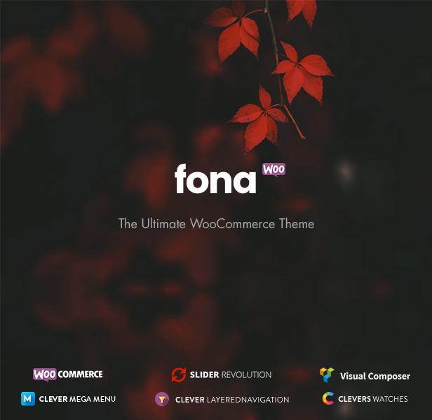 Fona - Responsive Elementor WooCommerce Theme - 6