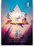 Summer Skyline Flyer