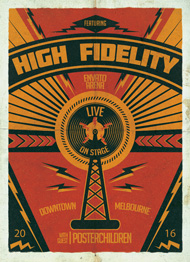 High Fidelity Poster Flyer Template