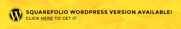 Squarefolio wordpress version available