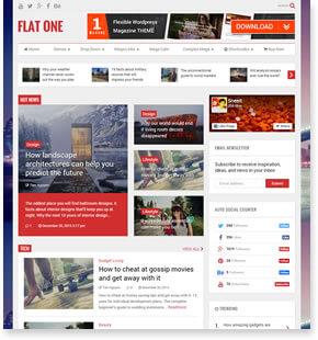 MagOne-响应式新闻和杂志博客模板[更至v7.3]插图8