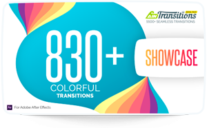 AinTransitions | Ultimate Multipurpose Transitions Pack - 40