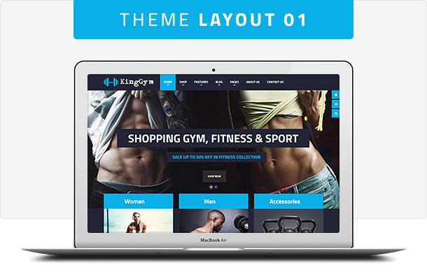 VG Kinggym - Fitness, Gym and Sport WordPress Theme - 6