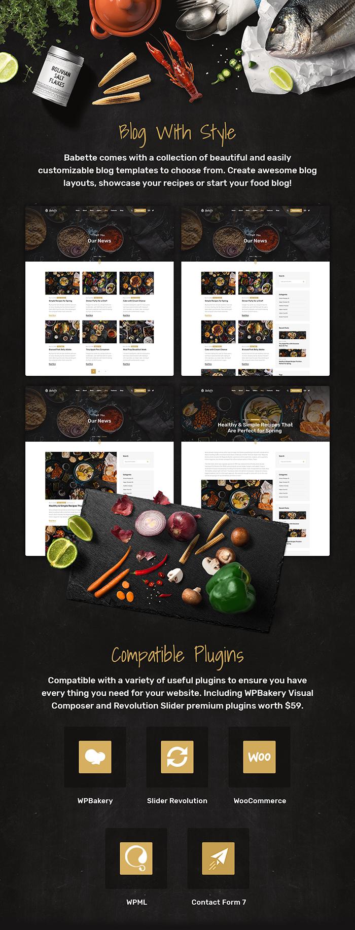 Babette - Restaurant & Cafe WordPress Theme - 9