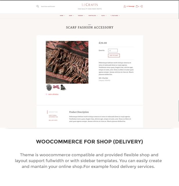 LeCrafts - WooCommerce Marketplace Themes - 6