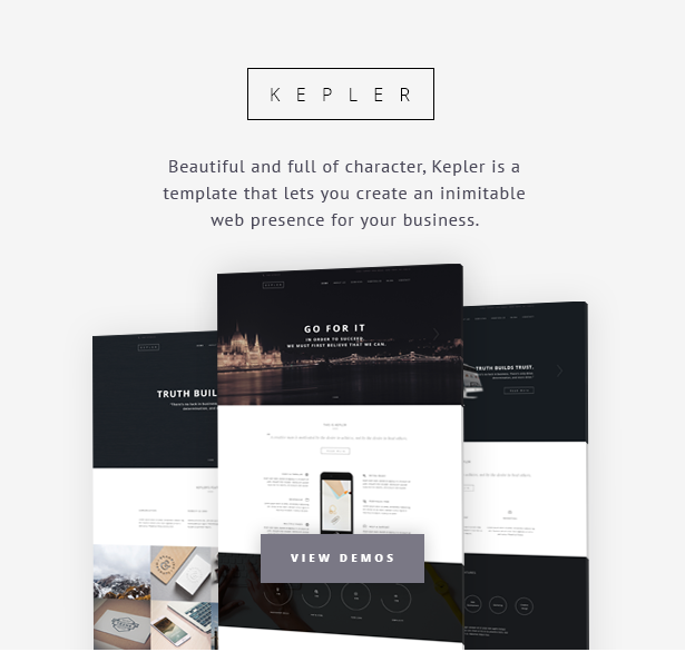 KEPLER - Responsive Business HTML5 Template