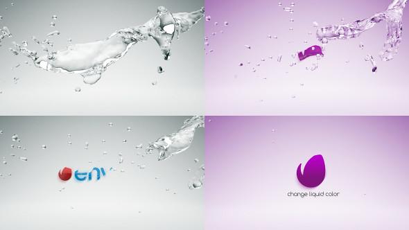 Water Drop Splash Logo - 47