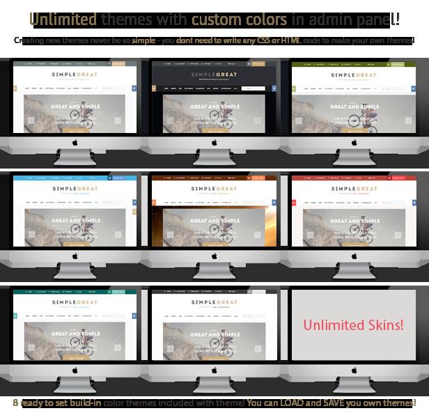 SimpleGreat – Premium Responsive OpenCart theme! - 10