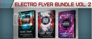 Electro Music Flyer Bundle Vol. 39 - 3