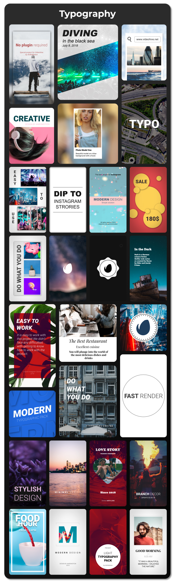 Instagram Stories Pack - 9