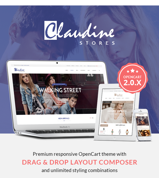 Claudine - Responsive Opencart Theme