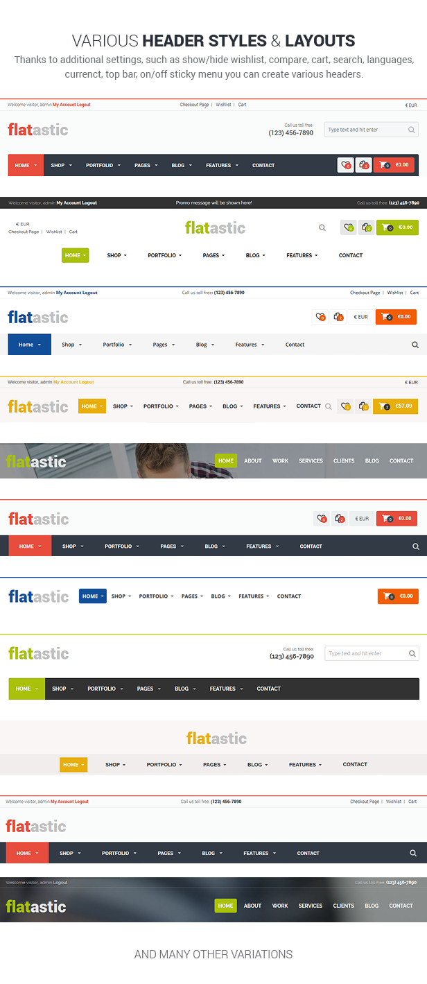 Flatastic - Versatile MultiVendor WordPress Theme - 24