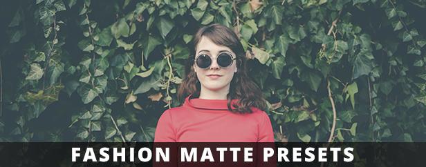 fashion matte