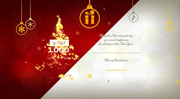 Christmas Card Magic Lights - 7