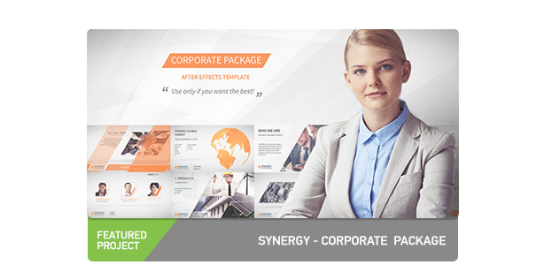 Synergy Corporate Presentation Pack