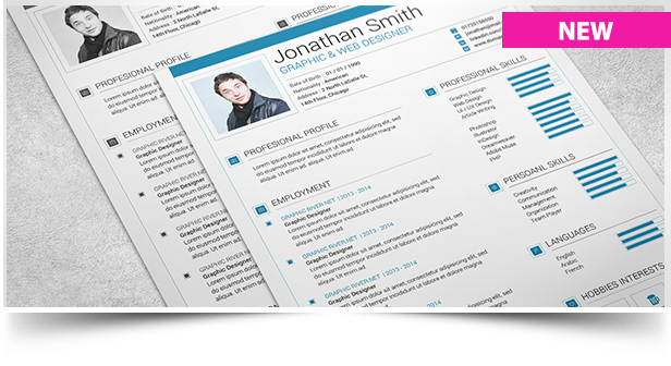 Clean and Minimal Resume Set - 1