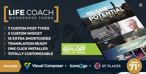Life Coach Wordpress Theme