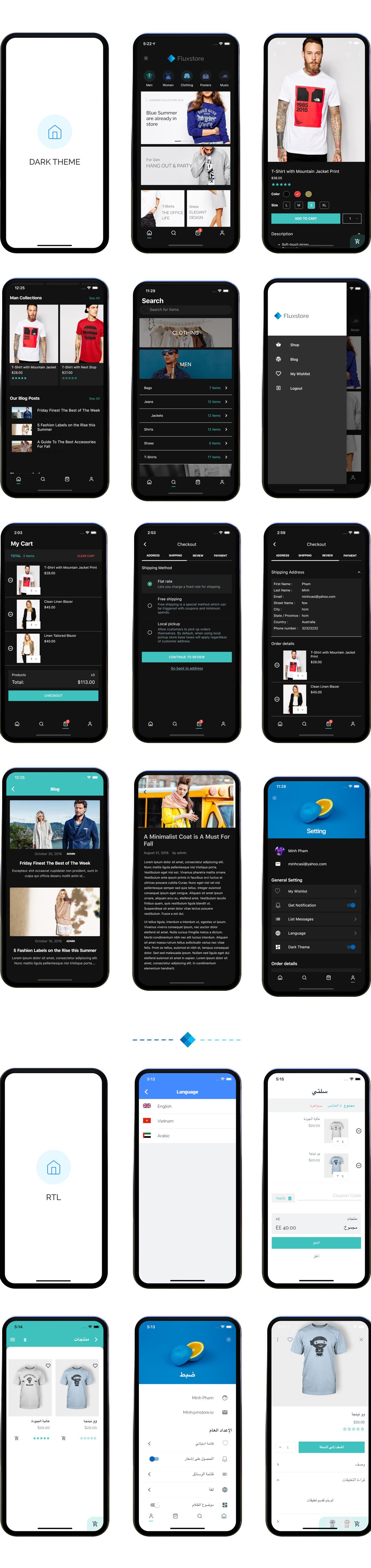 Fluxstore WooCommerce - Flutter E-commerce Full App - 28