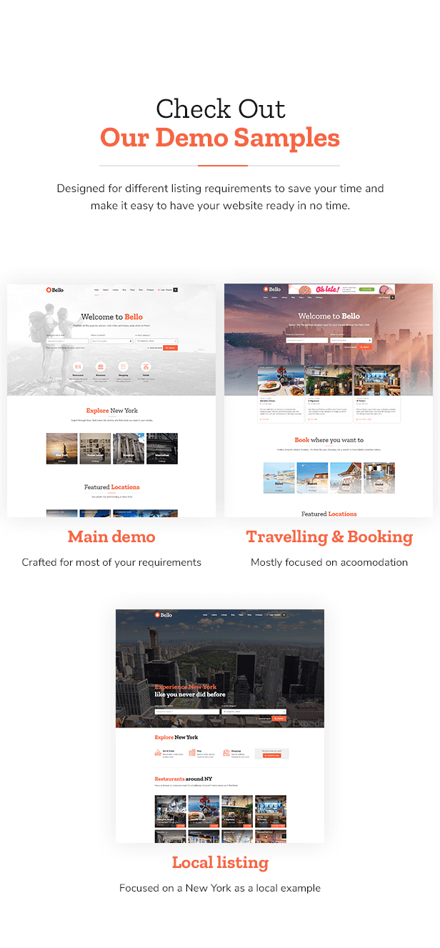 Bello - Directory & Listing WordPress Theme