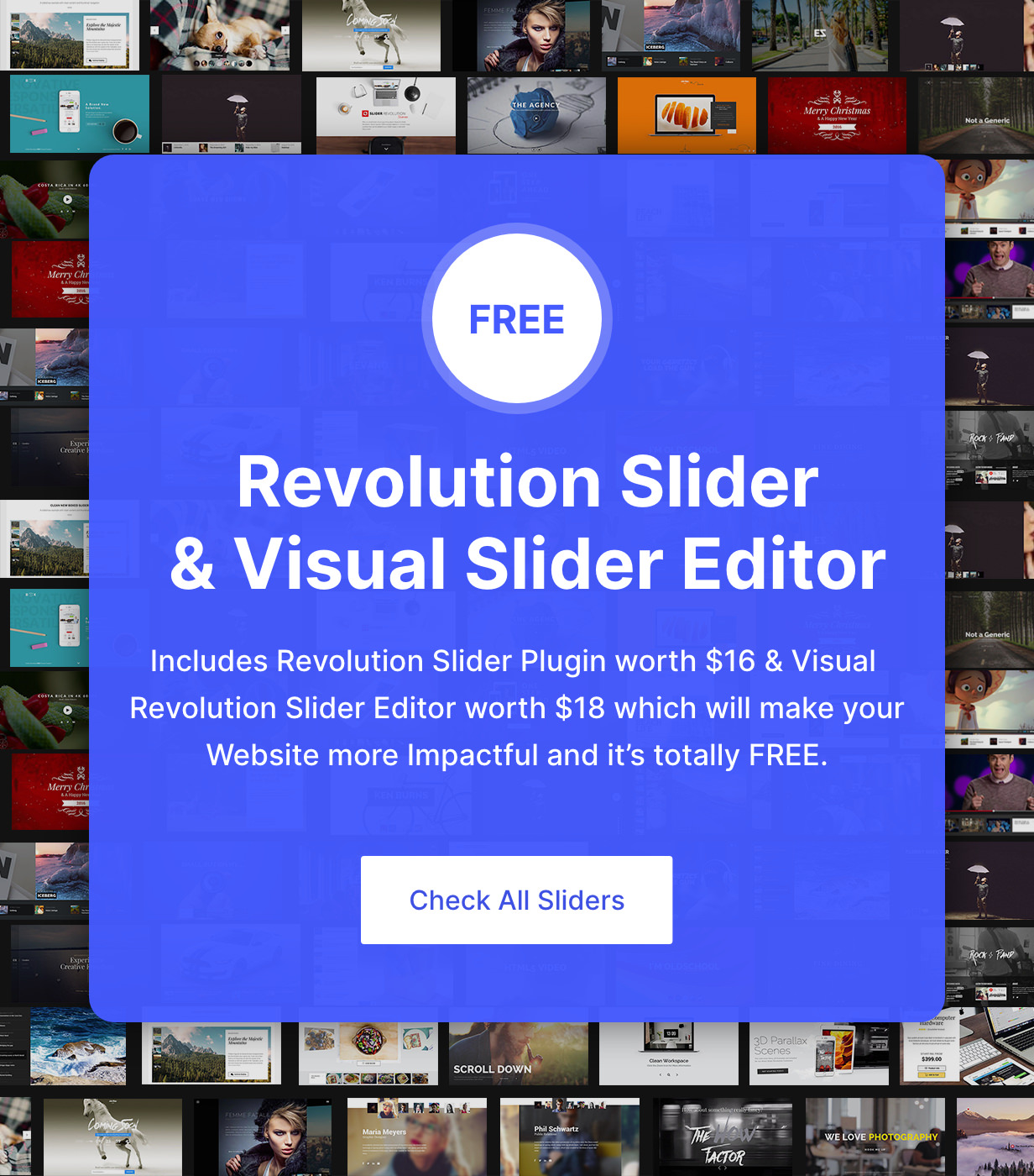 Revolution Sliders
