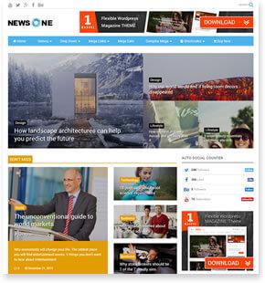 MagOne-响应式新闻和杂志博客模板[更至v7.3]插图4