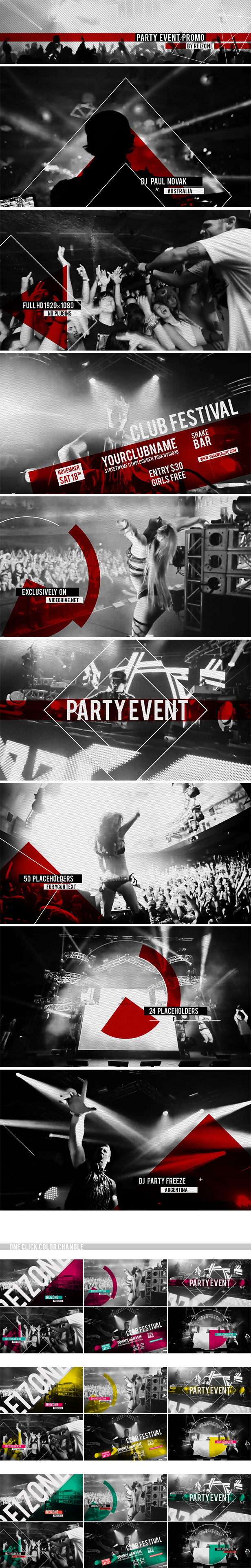 Party Event Promo