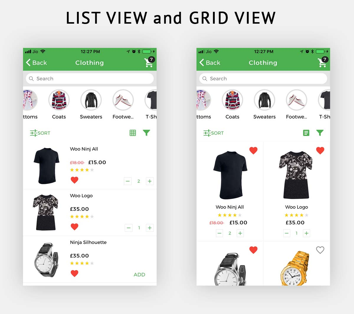 Woocommerce Mobile App Premium Theme Ionic 3 Nulled Free