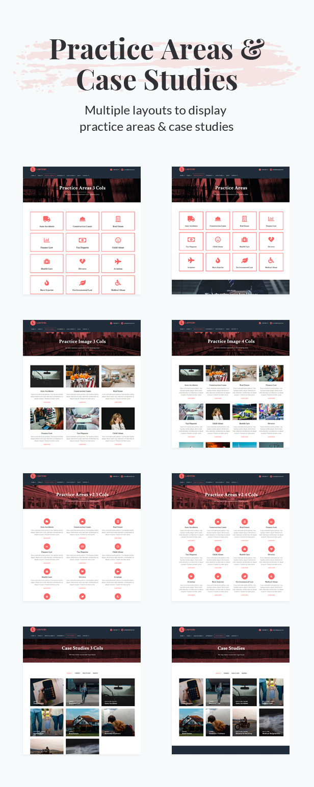 Lawyers - Responsive Business Wordpress Theme - 3