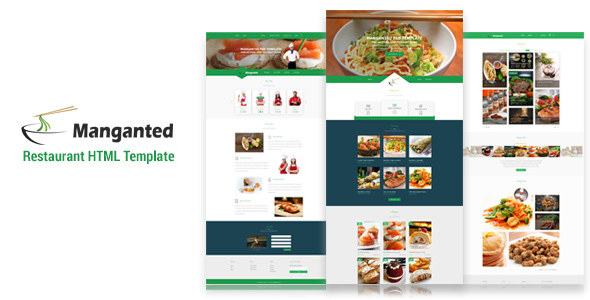 Manganted - Clean Restaurant HTML Template
