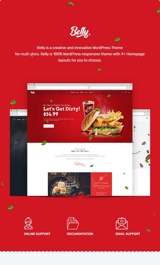 Belly - Multipurpose Theme for WooCommerce WordPress 20