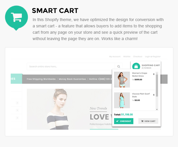 clothing store shopify template