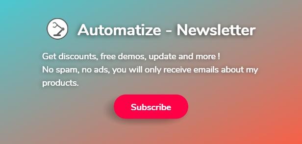 Automatize - Newsletter