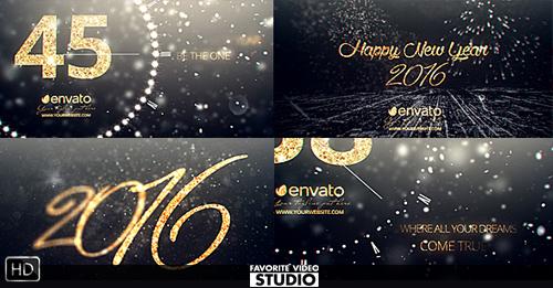 New Year Midnight Countdown 2016