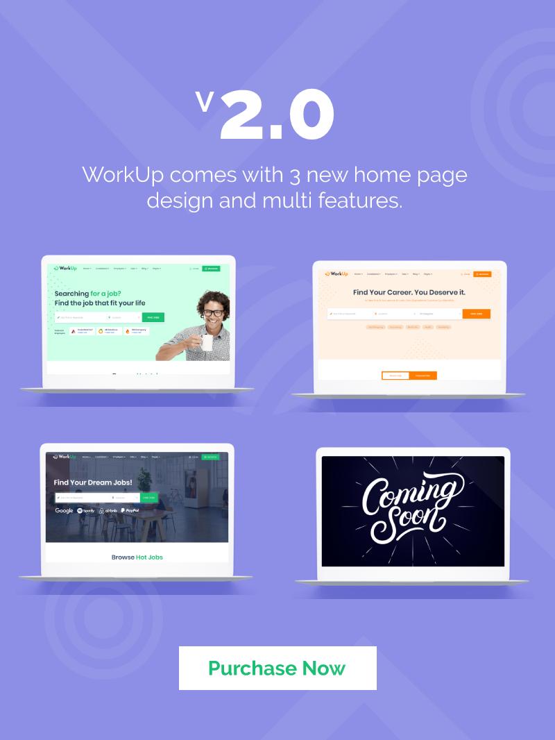 Workup – Job Board WordPress Theme - 4
