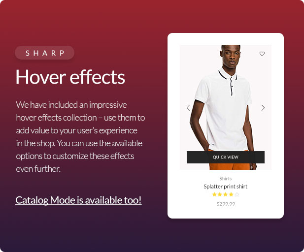 Xstore WooCommerce WordPress - Product hover