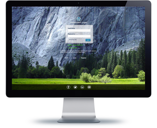 WordPress Custom Login Theme Page By Azzaroco CodeCanyon - Wordpress custom template