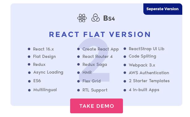 react material admin template