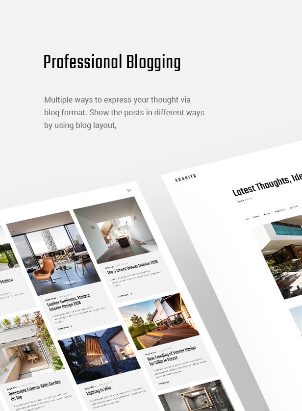 Arquito - 3D Architecture & Interior WordPress Theme - 9