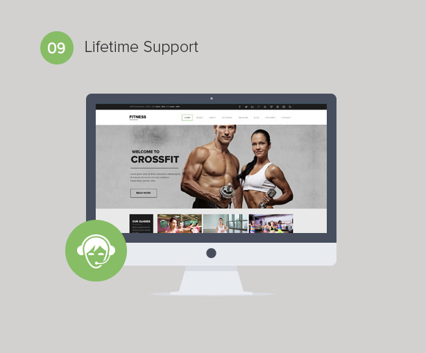 Gym WordPress Theme | Fitness - 10