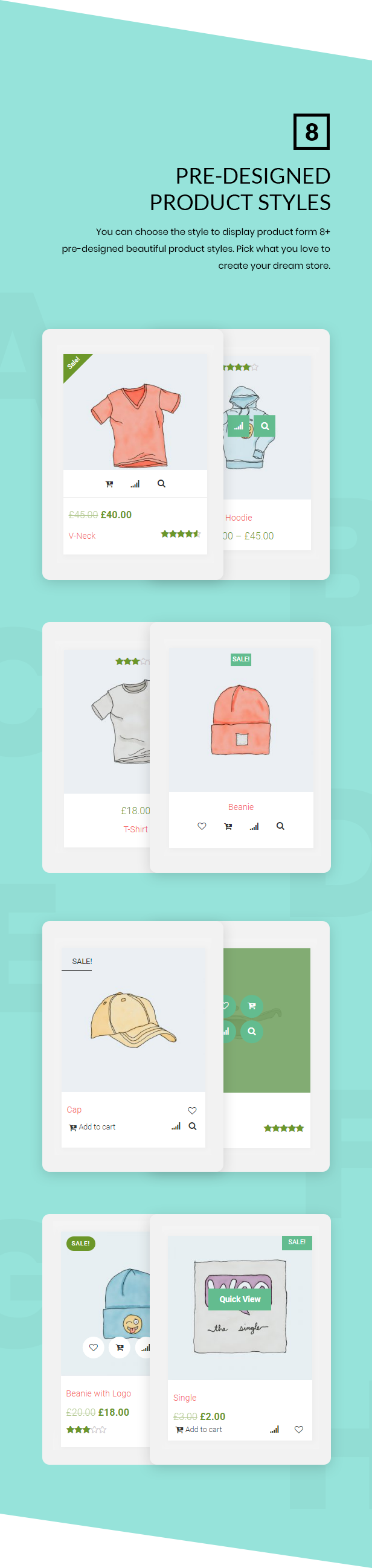 Noo Products Layouts - WooCommerce Addon for Elementor Page Builder - 4