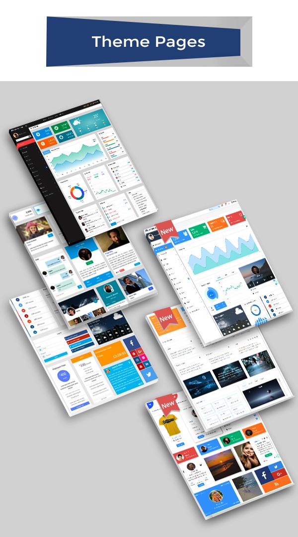 Admire - Bootstrap 4 Admin + Laravel Template - 4