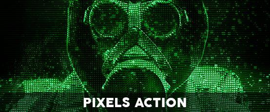 pixels action