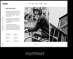 TIMBER – An Unusual Photography WordPress Theme - 2